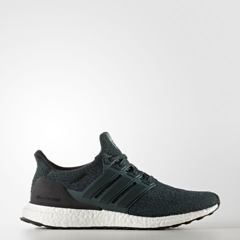 95e8559ef Ultra Boost 3.0 new Boxed Dark green uk size 6 only before - Depop