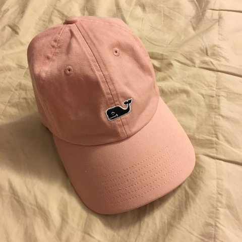 3f78a57419999 Vineyard Vines Pink Baseball Cap 🐳 In good condition only - Depop