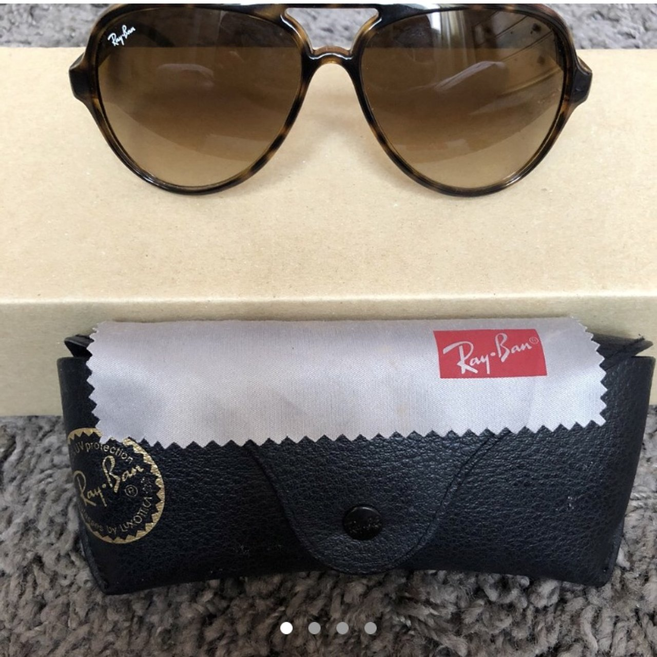 13ca0183e1 REDUCED    Rayban turtle shell - gorgeous pair of only I - Depop