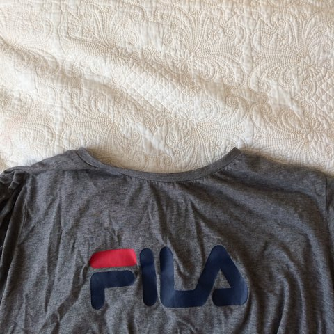 Been Reduced Free Delivery Urban Outfitters Fila Plain L Depop