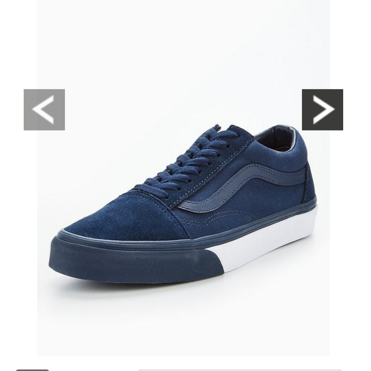 Mens vans old skool mono bumper trainers  Brand new    - Depop