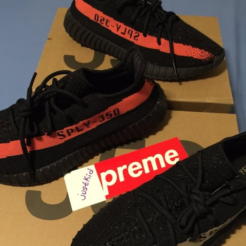 19100282a Adidas Yeezy Boost 350 V2. UK 9.5. US 10. Teo Pairs. One One - Depop