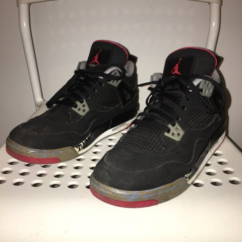 0f4071a4ba9e09 ... promo code for air jordan 4 black cement perfect for customisers or as  has depop a5470
