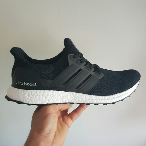 8b94aa4636f5 ADIDAS ULTRA BOOST 3.0 - BLACK - UK SIZE 10.5 - BRAND NEW - Depop