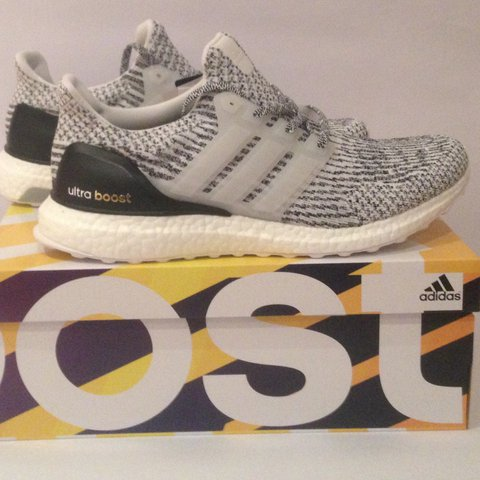 89c530972982f MESSAGE ME OFFERS AROUND £170 Adidas Ultra Boost 3.0 Oreo - Depop