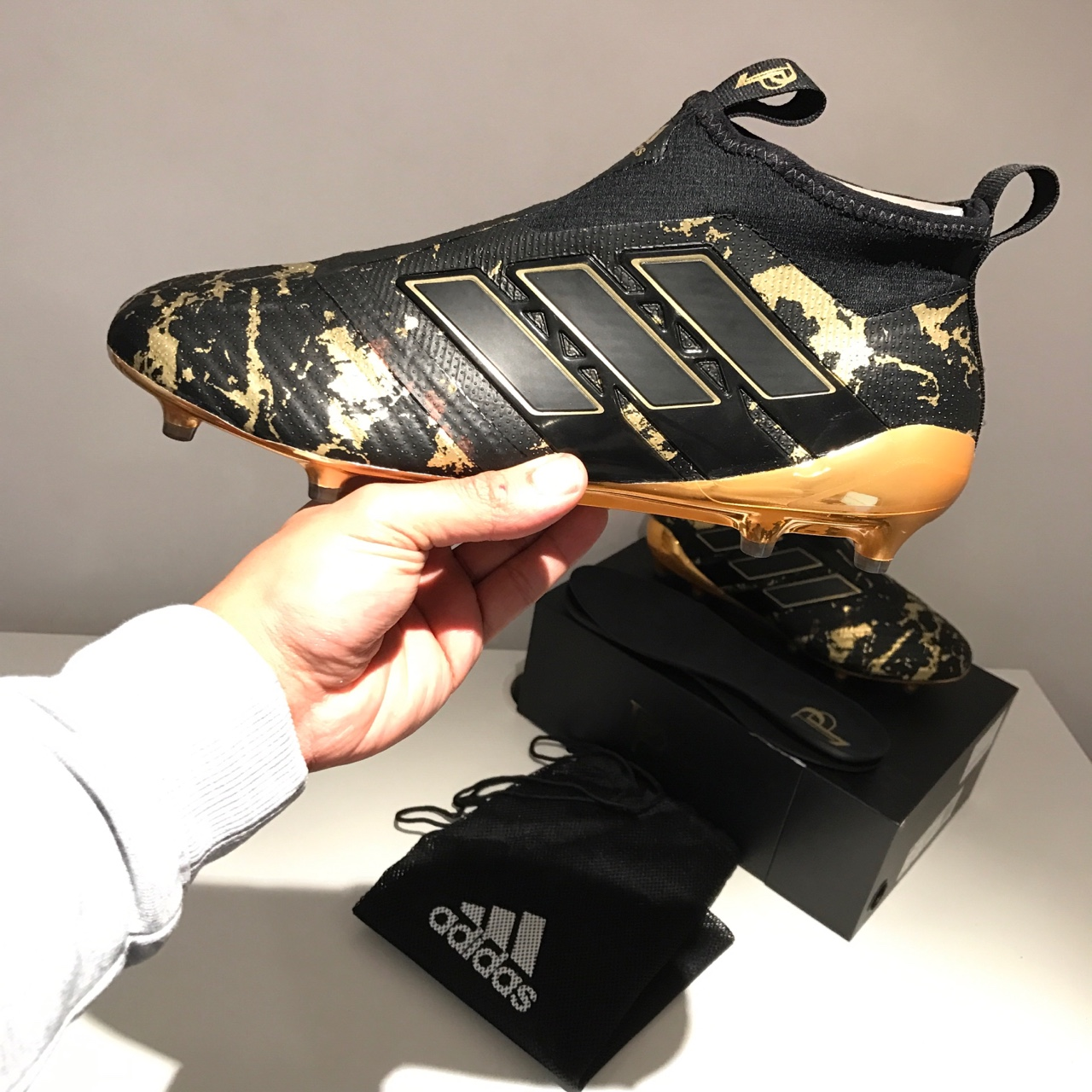 wholesale dealer 1cd6b af0ed Adidas x Paul Pogba ACE 17+ Purecontrol FG Football ...