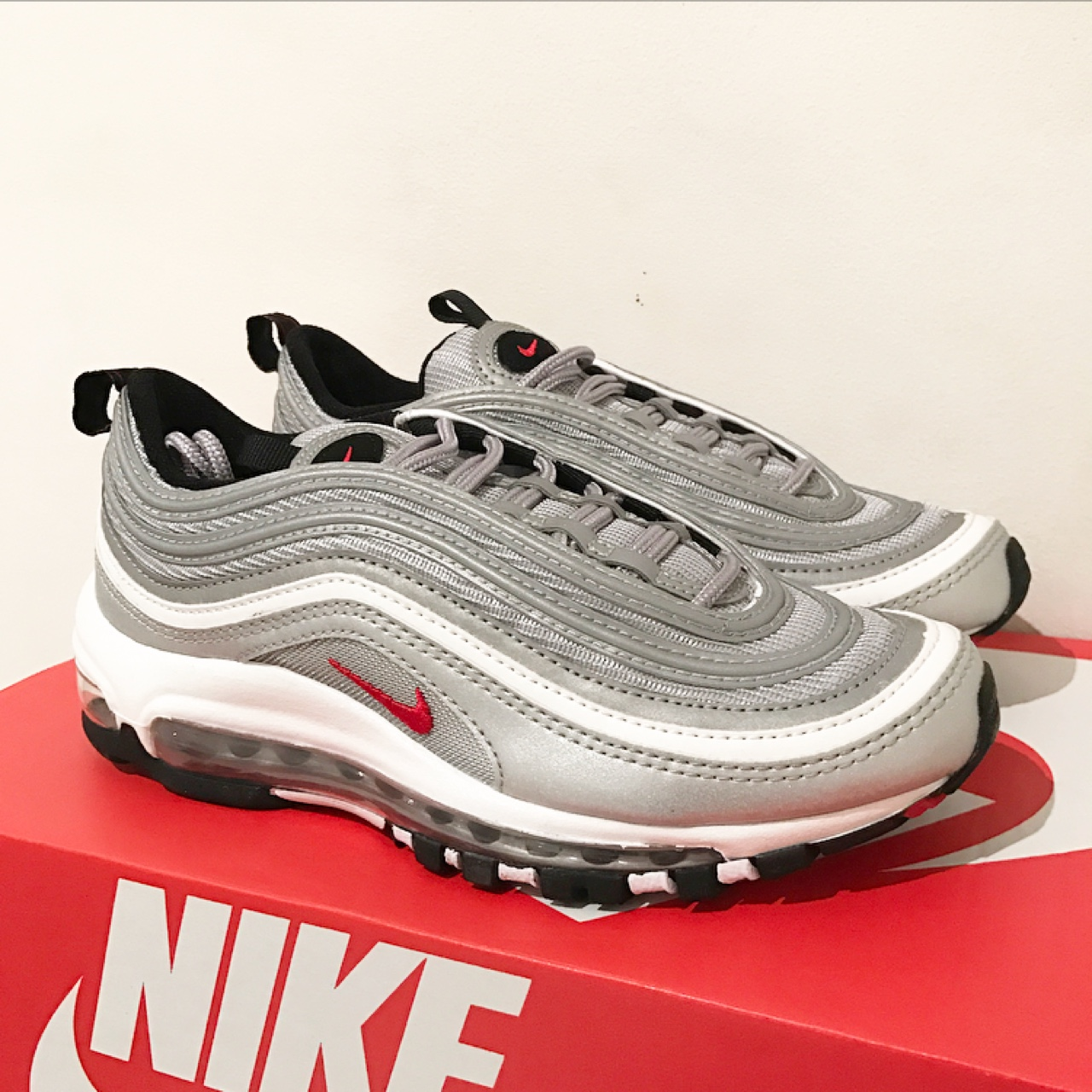 huge discount addb7 c675e Nike Air Max 97 'Silver Bullet' | Women's Size UK 3... - Depop