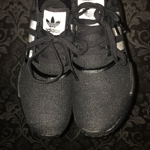 5f3572b0b ADIDAS NMD r 1 TRIPLE BLACK - BROUGHT FROM THE SIZE STORE - - Depop