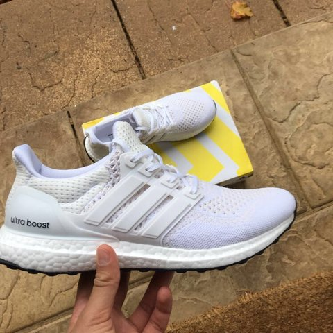 zachalfa. FollowingFollow. 7 hours ago. United Kingdom. - Adidas Ultra  Boost 1.0 2.0 Triple White ... 926aa8d76