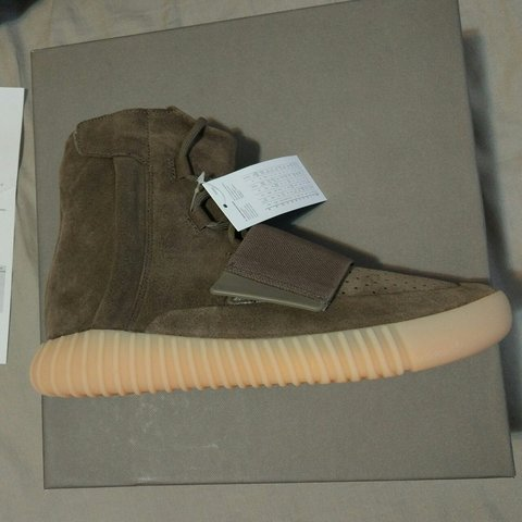 1693897e59ce1 Adidas Yeezy Boost 750 - Light Brown - BY2456 - Kanye - 11.5 - Depop