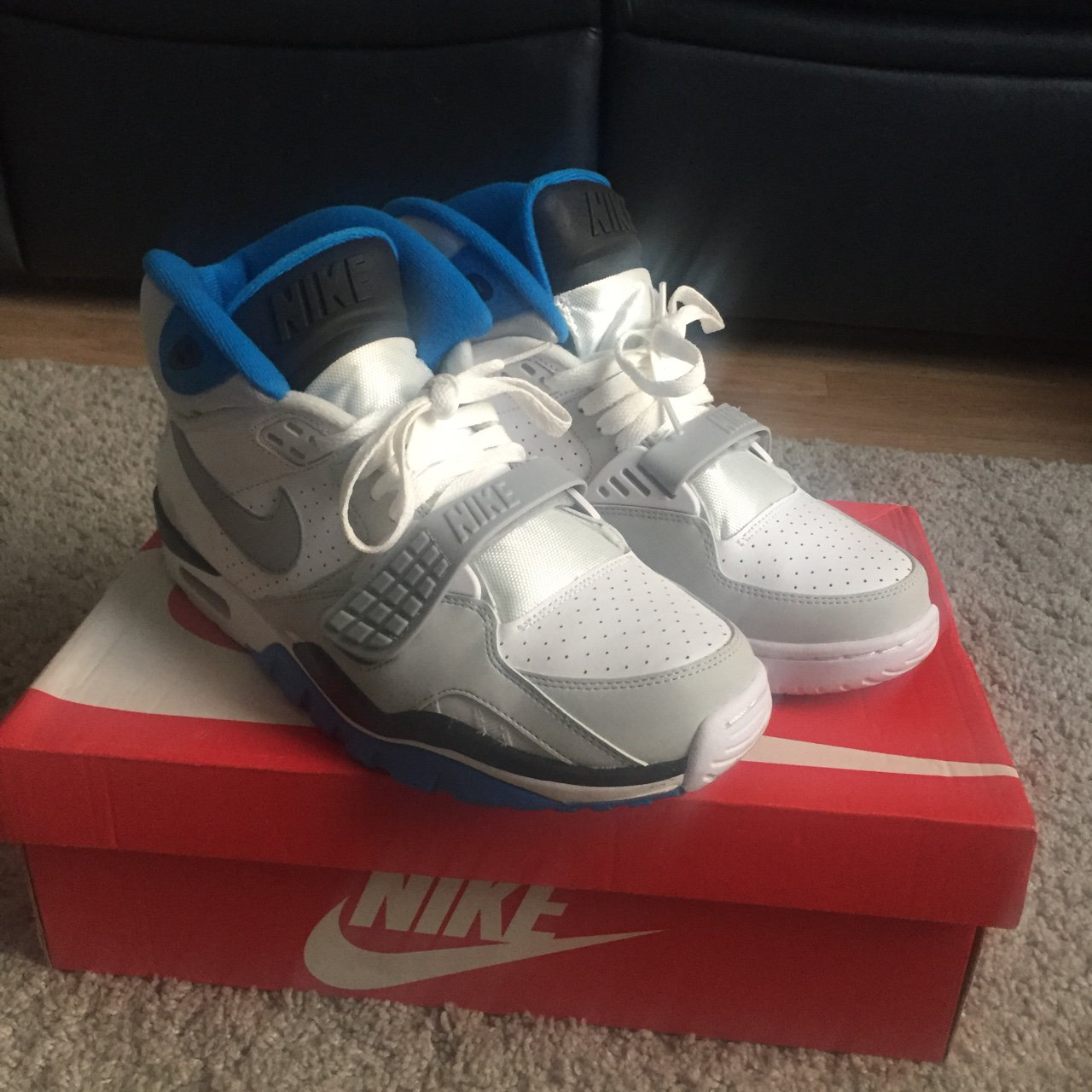 Nike Air Trainer SC II - Only worn once or twice. Excellent - Depop a7bbf79bf891