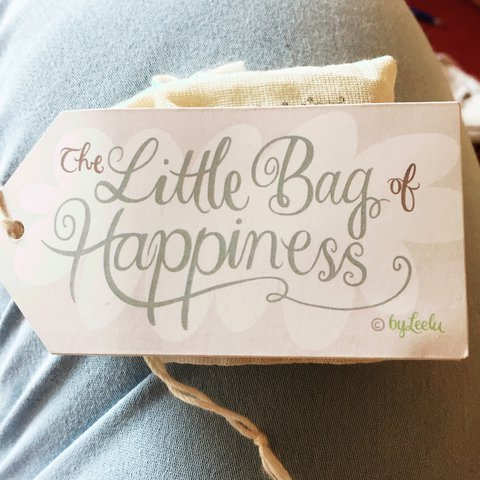 free item the little bag of happiness gift idea depop