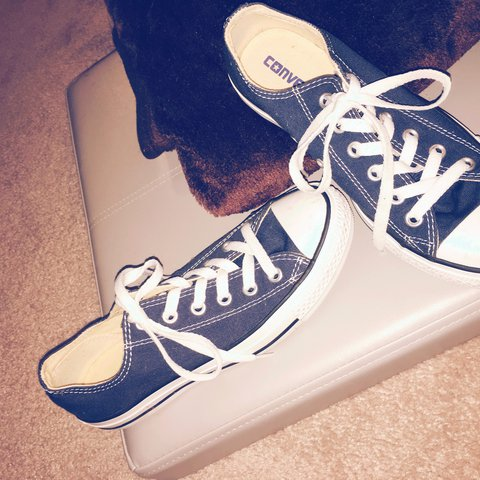 4e6fc142bb43 Genuine All star Converse. Size 5 and barely worn at all