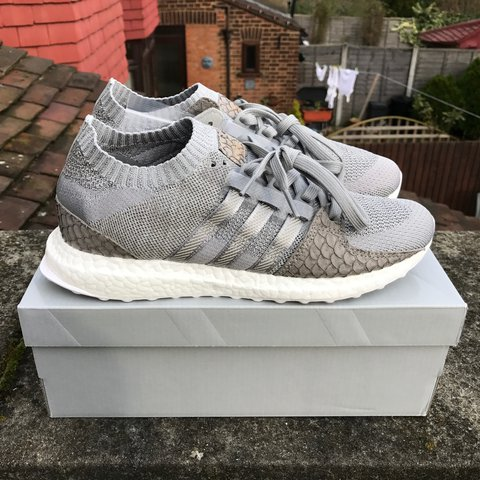 92bad211d51e ADIDAS X PUSHA T EQT PRIMEKNIT SUPPORT ULTRA SHOES with UK - Depop
