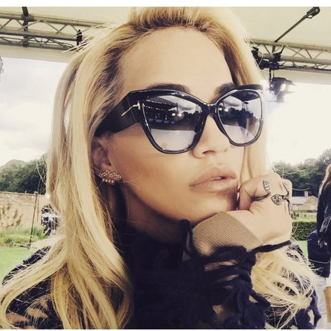 6153d6e2d1 TOM FORD SUNGLASSES AS SEEN ON RITA ORA. Large over sized a - Depop