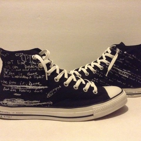 """67d3ac3391d Converse """"Kurt Cobain collection"""" go ahead try to find them - Depop"""