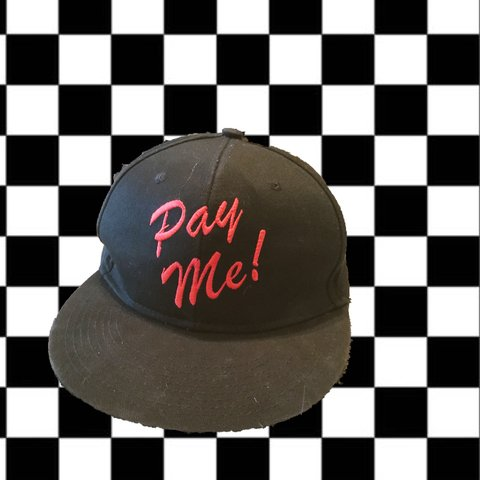 61a1c470 PAY ME!! 💸💸 Embroidered Snapback. 💰 Perfect hat for the - Depop