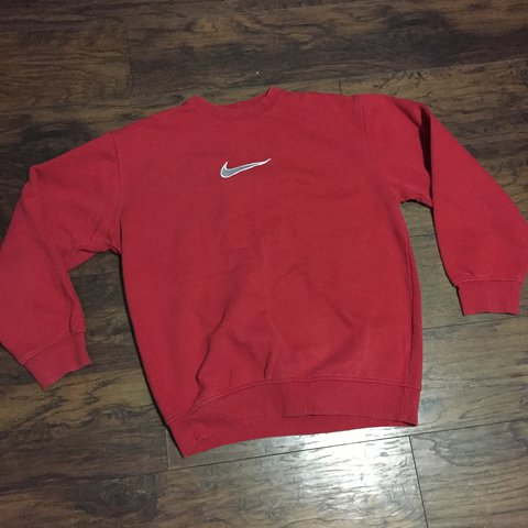 373e725d60 vintage Nike swoosh crewneck   sweatshirt - men s perfect - Depop