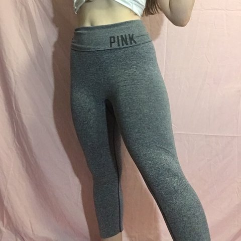 f6c4a944371dc ⭐️This PINK yoga pants are cute to make your butt look Like - Depop