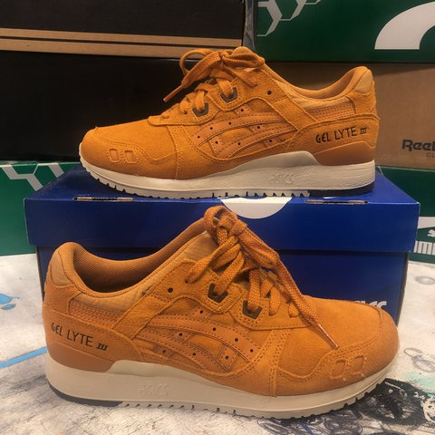 competitive price 88a23 593c8  leimai. last year. Manchester, United Kingdom. ASICS gel lyte III - honey  ginger ...