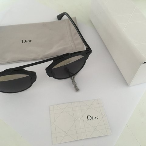 f13c63e2cf419 So Real Dior sunglasses Authentic 100% with box