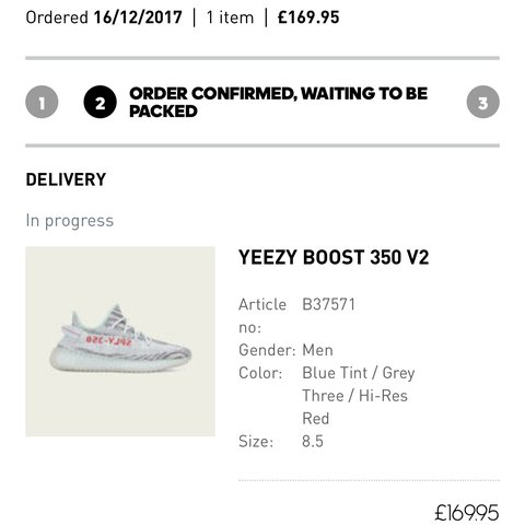 983eaba2538 Yeezy Boost 350 V2 Blue Tint💎 DS Item💎 UK 8.5💎 Pm for be - Depop