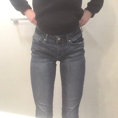 4938b98bc292 Womens medium wash full length ankle (depends on your jeans