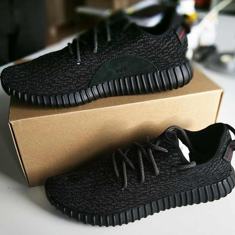 a764814e23e70 ... new style authentic adidas yeezy boost 350 pirate black never take depop  7de59 282ea