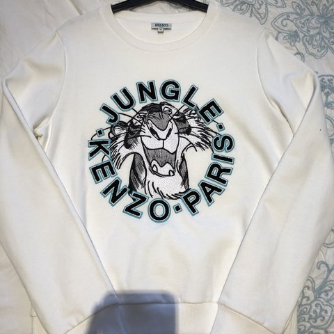 0de0e464 @st3phhughes. last month. Leeds, United Kingdom. KENZO jumper size Medium.  Worn maybe once ...