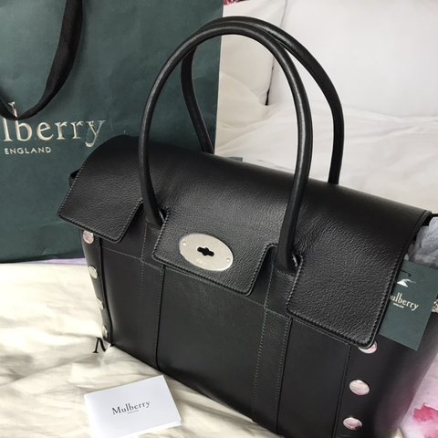 3a8c73da5a @jud29. 3 months ago. Romford, United Kingdom. Mulberry Studded Bayswater  Brand new bag!!!