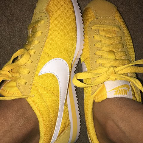 on sale 43ef6 6d615 inexpensive fit man nike cortez mustard gc306631 6d1d6 3d876 official size  4 mustard yellow nike cortez good condition nike depop 819a2 4a1f9