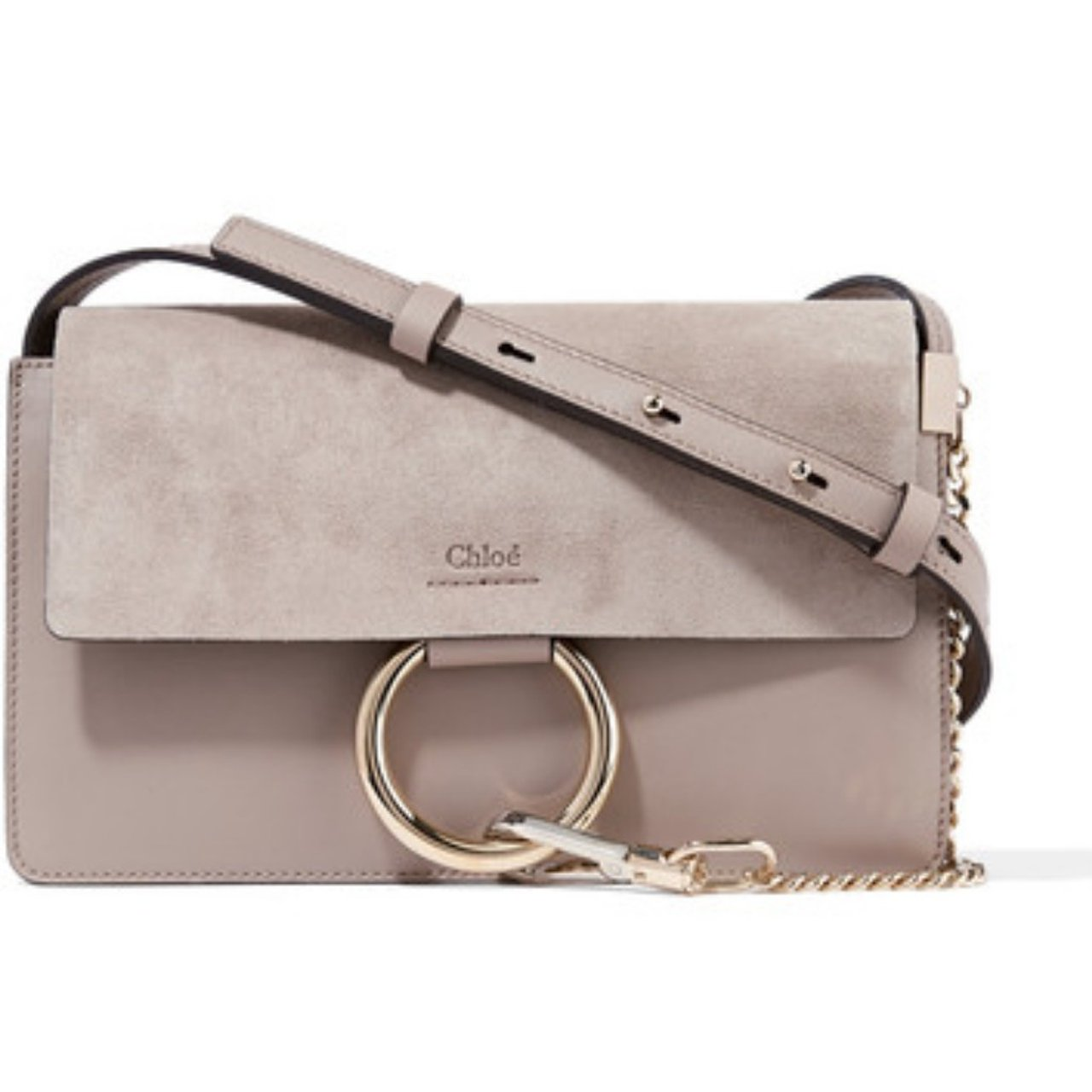 chloe small grey Faye crossbody Gently eaeec7ff0f912