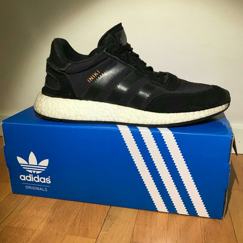 e92b0d52d876f ADIDAS ORIGINALS INIKI RUNNER BLACK BLACK UK 9 1 2 - US 10 - - Depop