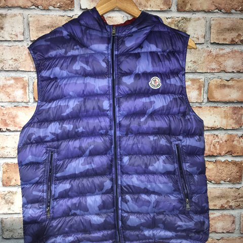 1926c0f64 MAKE OFFERS! Moncler Patrick Gilet🔥 This is honestly a to - Depop