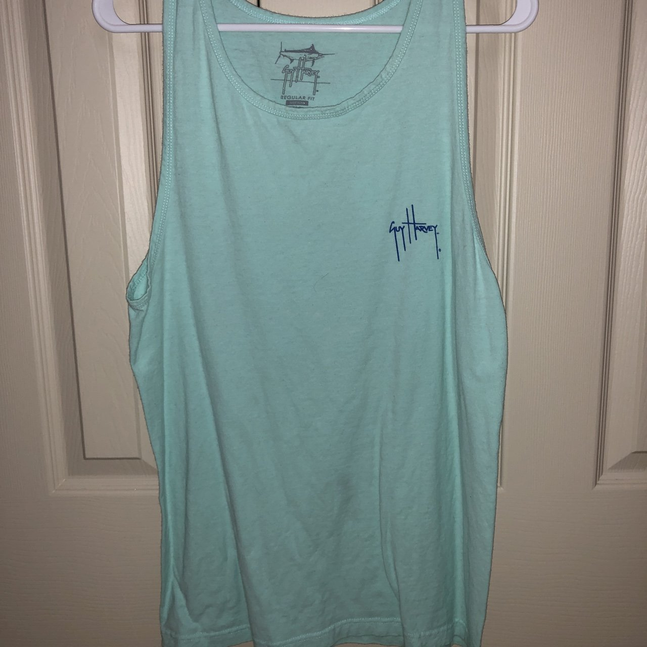 94f48595e1b9b4  ahbh23. 9 months ago. United States. Guy Harvey tank top. Only worn a few  times. In great condition.