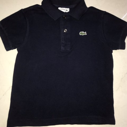 a61f4b47 @prelovedbabywear. 4 months ago. Glasgow, United Kingdom. Boys navy Lacoste polo  shirt ...