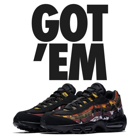 pretty nice cdce8 a0408 ⛔ ⛔️SOLD⛔ ⛔ Nike air max 95 OG MC SP ERDL PARTY Message me - Depop