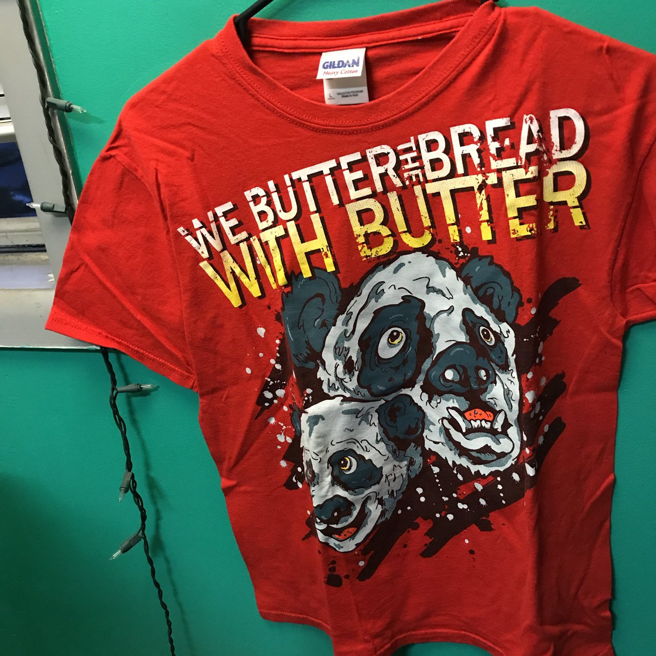 97552b543 We butter the bread with butter classic graphic tee. Worn or - Depop