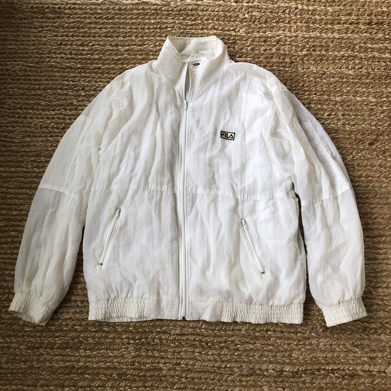 Hite Jacket Terry Cloth Lined Collar Maname