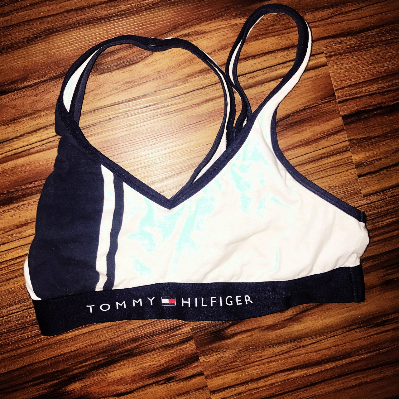 04db23a296 Authentic Tommy Hilfiger bra! Can be worn underneath or just - Depop