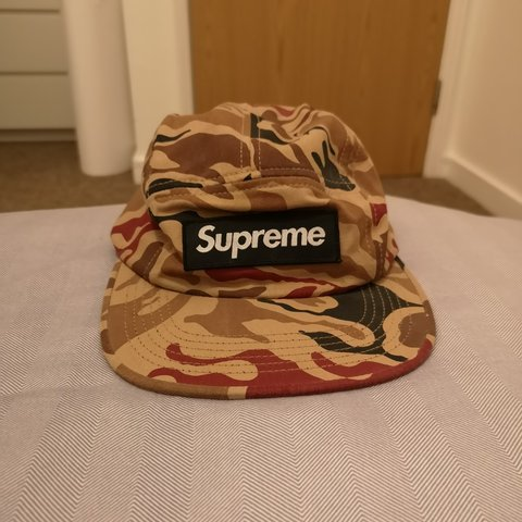 940070afe5494e Supreme 5-panel cap purchased from Supreme Webstore. One Has - Depop