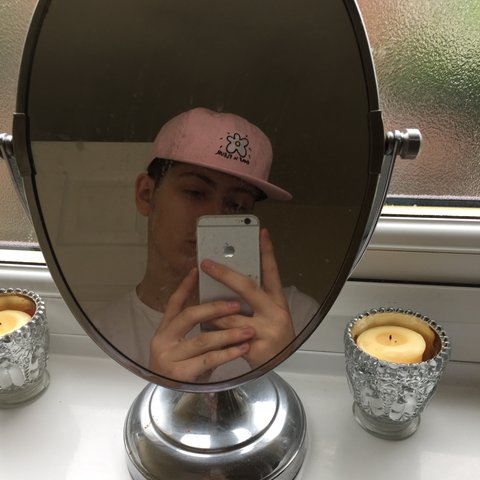 01e914c0b143 Golf Le Fleur Dad Hat in Pink. Some golf wang hat from Tyler - Depop