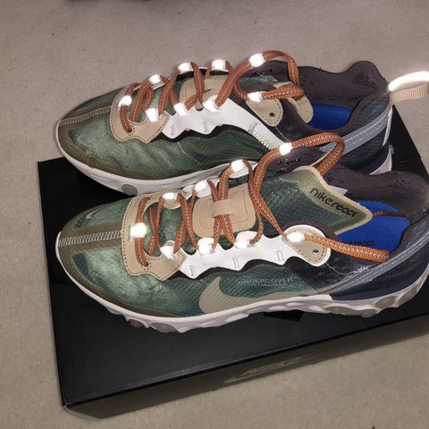 huge selection of 407d7 e507d  henrywise. 3 months ago. Uxbridge, United Kingdom. Undercover x Nike react  element 87 Green Black Rare Colourway Excellent Condition