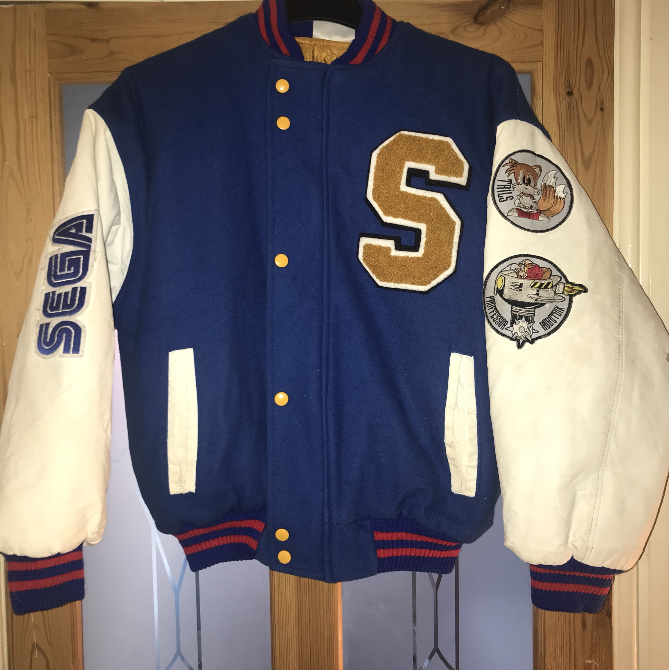 Sonic The Hedgehog 2 Baseball Jacket Size Small Depop