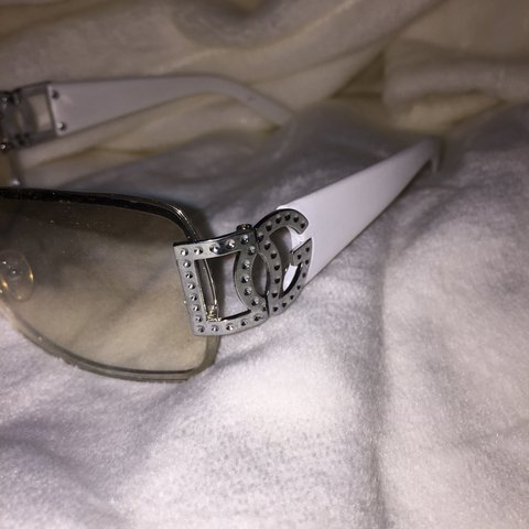 d838d162d417 Clear Framed DG Glasses ~ Clear lens ~ White handles ~ - Depop