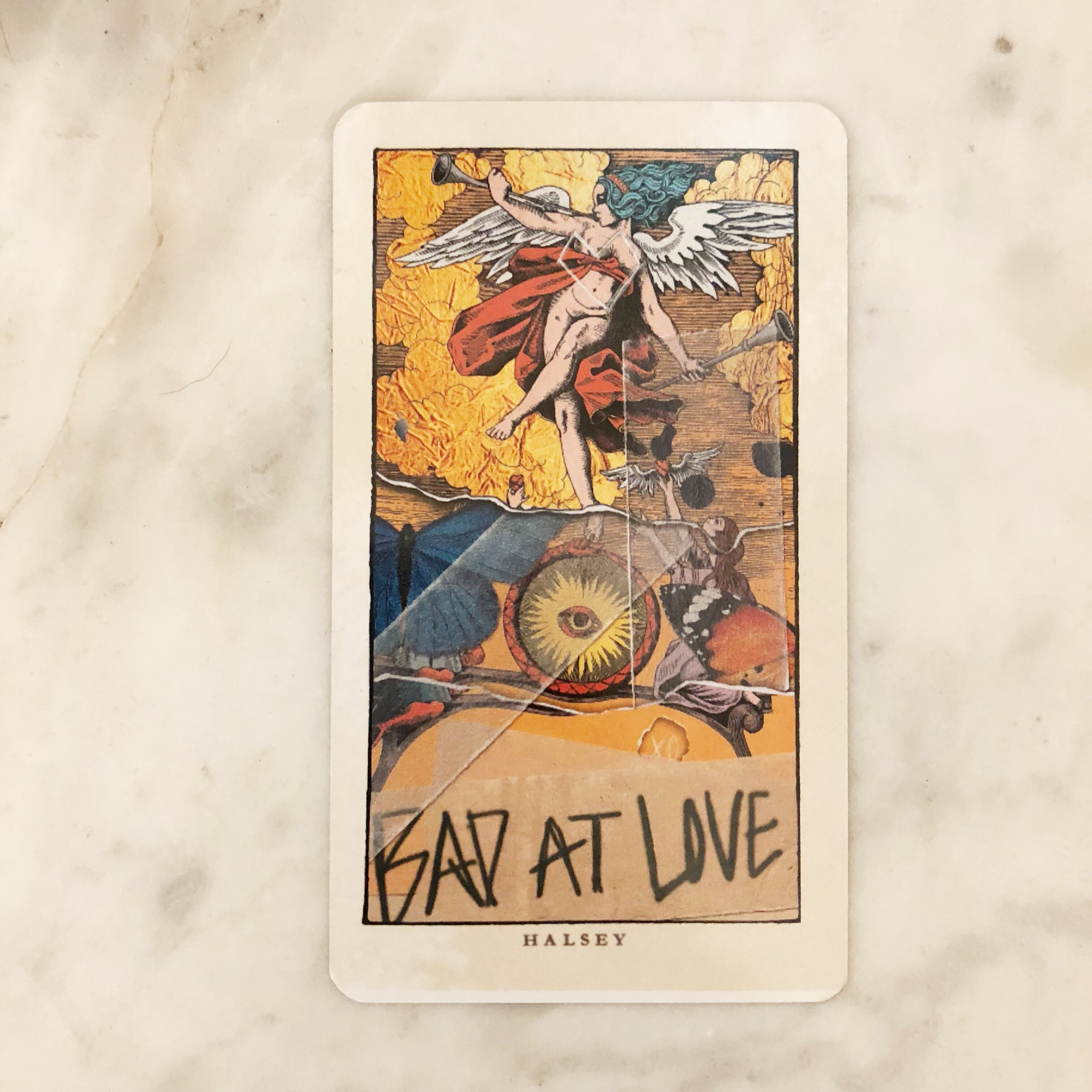 Halsey Bad At Love tarot card  *MAKE OFFERS CAN BE    - Depop