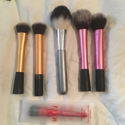 Makeup Brush Bundle Real Techniques Expert Face Brush Depop