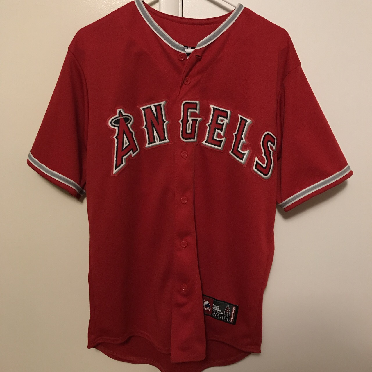 more photos 75304 25b48 Angels Jersey • Angels Baseball • Mike Trout • BRAND ...