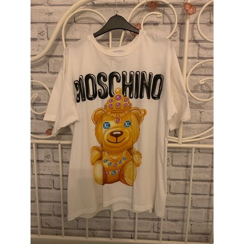 28de7dc640 Sold out Moschino teddy bear print t-shirt