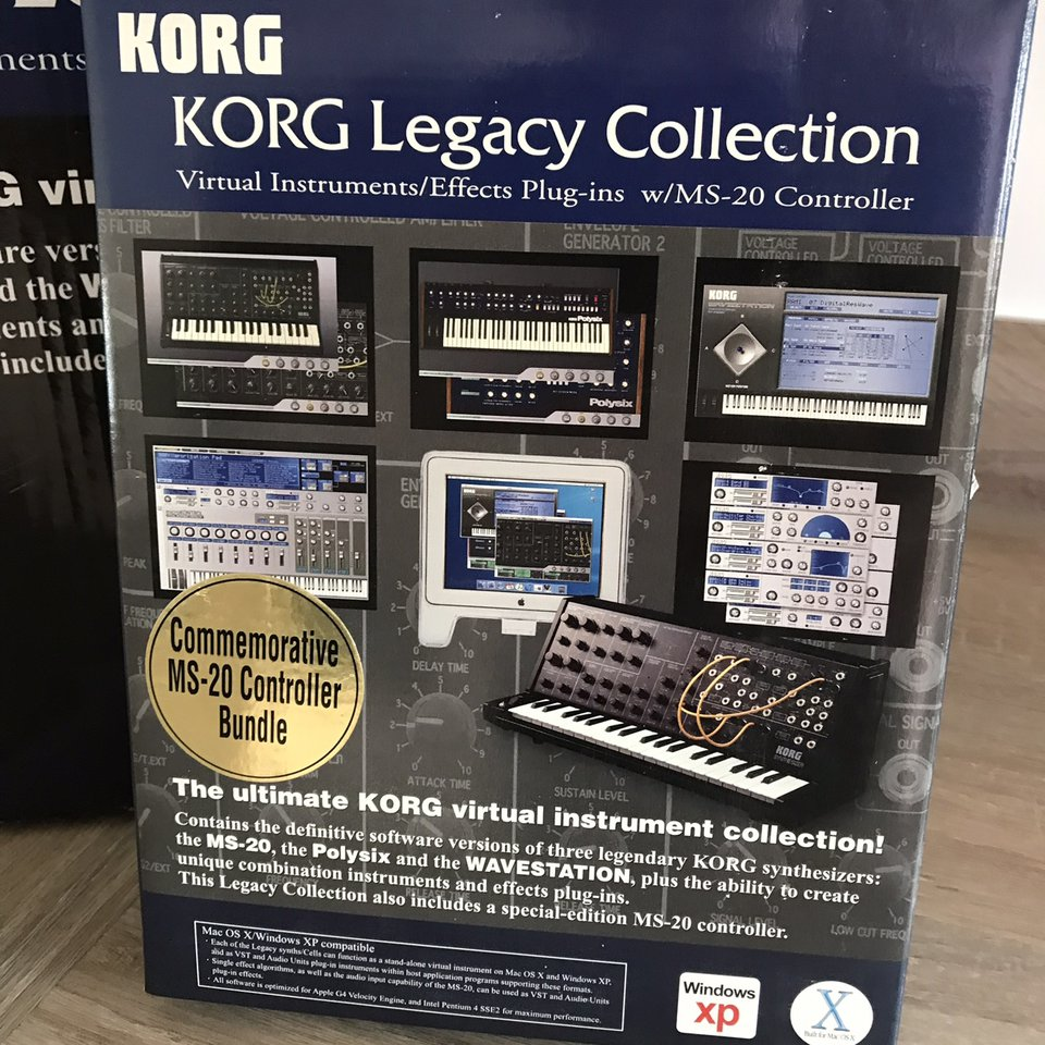 Brand New never used (display only) Korg MS20 Legacy    - Depop